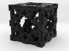 Swiss Cheese Cube 3d printed
