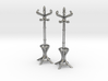 Pair of 1:48 Metal Hatstands 3d printed