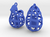 The Chicken or The Egg - Earrings 3d printed