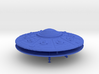 Scout Ship UFO, Flying Saucer Kit-November 3d printed