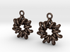 Torus1 Earrings 3d printed
