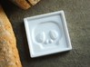 Skull Dipping Bowl 3d printed