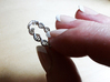 The Ring Of Life DNA Molecule Ring 3d printed Photograph by Cheri Cloninger