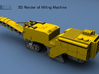 N Scale Road Milling Machine by ScimDIA 3d printed
