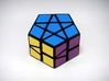Fractured Prism Puzzle 3d printed Blue Side