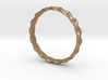 4 Strand Tight Braided Ring 3d printed