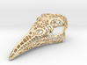 Filigree Raven Skull - LARGE 3d printed