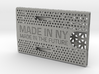 Business card case -Made in NY, Made in the Future 3d printed