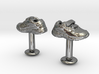 Shoe cufflinks 3d printed
