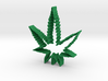 Weed Leaf Cookie Cutter 3d printed