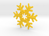 Snow Flake 6 Points E 4cm 3d printed