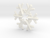 Snow Flake 6 Points F - 4cm 3d printed