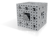 Menger Sponge Iteration 3 with Chamfer 3d printed