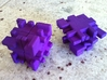 Twisty Burr 3d printed Scrambled