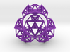 Inversion of a Sierpinski Tetrahedron 3d printed