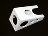 Slot Car Throttle Holder 1 3d printed The four holes for mounting screw are seen here