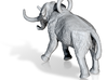 Elephant Charm 3d printed 3D mammoth model ©2012-2014 RareBreed