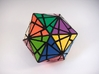 Fractured Cube Puzzle 3d printed Vertex Type 2