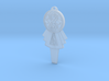 Seventh Doctor's T.A.R.D.I.S. Key Pendant 3d printed