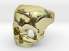Skull Ring US 8 3d printed