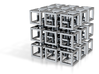Interlocked Cubes 3d printed