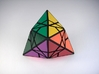 Fractured Tetrahedron Puzzle 3d printed Vertex Type 1