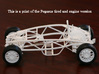 Ariel Atom 1/24th scale model (Pegasus) 3d printed