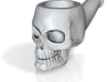 Skull Tobacco Pipe (old ceramic material) 3d printed