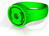 Green Lantern Kyle Rayner Ring (Small) 3d printed