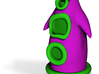 Day of the Tentacle - Purple 5cm 3d printed