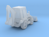 Caterpillar 416 Backhoe - Zscale 3d printed
