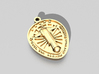 Football jesus Pendants 3d printed Image of the publication will be sample only. Appearance depends on the material you choose.