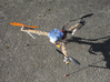 Multicopter Leg Hinge 3d printed Tricopter with three legs
