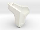 Tetrapod HALF SIZE mould in White Strong & Flexible