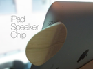 iPad Speaker Chip in White Strong & Flexible