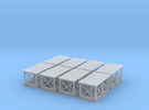 Birchwood Support Structure Z Scale in Frosted Ultra Detail
