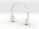 Headphones BOSS Version: BJD Doll SD 1/3 size in White Strong & Flexible