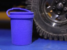 Shop Bucket 1:10 Scale in Blue Strong & Flexible Polished
