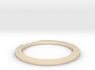 Sliced Ring 16.7mm in 14K Gold
