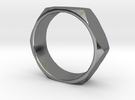 Nut Ring 14 in Premium Silver