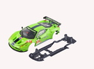S08-ST3 Ferrari 458 GT2 Chassis SSD/LMP in Black Strong & Flexible