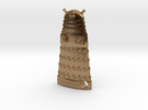 Dalek Robot 1.65 in Raw Brass