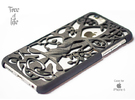"""Iphone 6 cover """"Tree of life"""" in Black Strong & Flexible"""