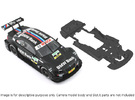 S02-ST2 BMW M3 DTM Chassis STD/STD in Black Strong & Flexible