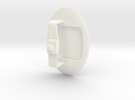 Sensor Pod (WSF) in White Strong & Flexible Polished