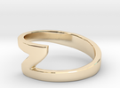 Zee Ring in 14K Gold