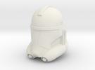 "Clone Trooper Helmet 3"" in White Strong & Flexible"