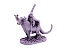 Taiga Strider (28mm scale miniature) in White Strong & Flexible Polished