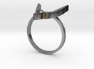 Egyptian Hound Ring - Sz. 9 in Premium Silver