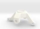 Axial BTA steering knuckle in White Strong & Flexible Polished
